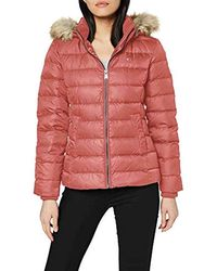 Tommy Hilfiger Essential Hooded Down Giacca - Rosso