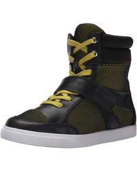 Nine West Buhbye Fabric Fashion Sneaker - Black