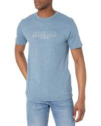 Volcom - Position Short Sleeve T-shirt - Lyst
