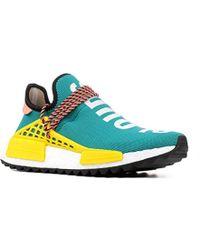 adidas Originals x Pharrell Williams SOLARHU Tennis V2 'Solar Pack' (YellowFootwear WhiteCore Black)