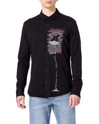 Desigual Cam_aaron T-shirt - Black