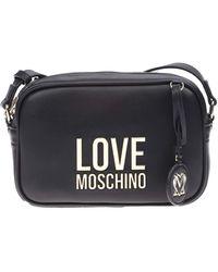 Love Moschino , Sac à bandoulière, collection Primavera Estate 2021, pour femme, Unique - Noir