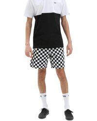 Vans Range 18 Short 2019 Checkerboard - Black