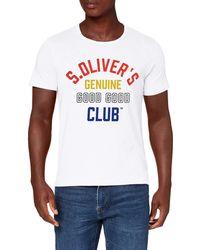S.oliver 13.907.32.7665 T-Shirt - Weiß