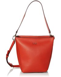 Guess Cami Crossbody Bucket - Red