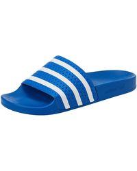 adidas Adilette - Bleu