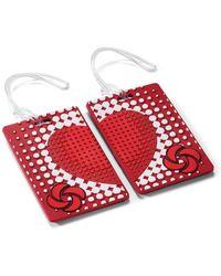 Samsonite Designer Luggage Id Tag - Red