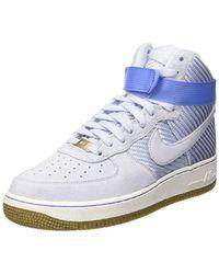 Nike Wmns Air Force 1 Hi Prm Gymnastics Shoes - Multicolour