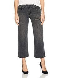 Siwy - Maria Luisa Parallel Leg Jeans In Black Cadillac - Lyst