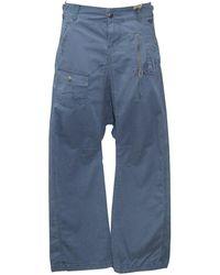 Roxy Pantalon Type Sarouel MODELE Hong Kong Couleur Bleu Encre OU Vert Kaki XS S M L XL Neuf