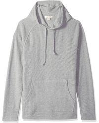 Goodthreads Long-sleeve Slub Thermal Pullover - Gray
