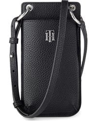 Tommy Hilfiger Th Essence Phone Wallet Small Leather Goods - Black