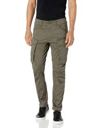 G-Star RAW Hose Rovic Zip 3D Straight Tapered - Grau