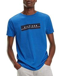 105ffc4e Tommy Hilfiger 's Corp Box Print Tee T in Gray for Men - Lyst