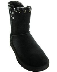 77c2d7e032e UGG Ugg Aidah Mini Boot in Black - Lyst