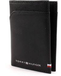 Tommy Hilfiger Bi-Material Bifold ID Black - Noir