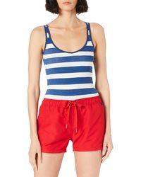 Marc O'polo Beach Short Accesoires Vêtement Couvrant de Maillot de Bain - Bleu