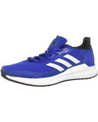 adidas Solar Blaze M Chaussures de Running Bleu
