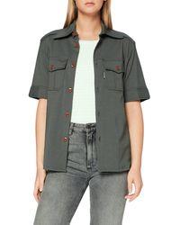 G-Star RAW Officer Short Sleeve Camicia - Grigio