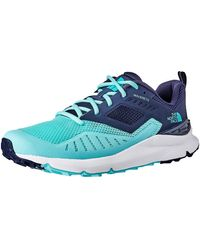 The North Face Shoes Rovereto Canvas Low Top Pull - Blu