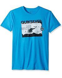 Quiksilver - Black Horizon Tee - Lyst