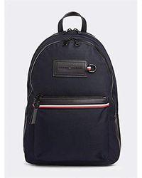 Tommy Hilfiger Modern Nylon Backpack, Sacs portés épaule - Bleu