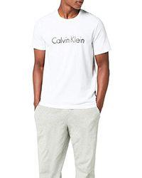 Calvin Klein S/S Crew Neck Maglietta Uomo - Bianco