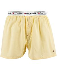 Tommy Hilfiger Authentic Woven Boxers - Yellow