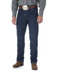 Wrangler George Strait Cowboy Cut Original Fit Jean - Blue