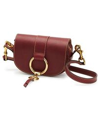 Frye - Ilana Harness Mini Saddle Crossbody Bag - Lyst