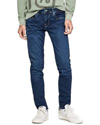 Pepe Jeans 's Hatch Slim Fit Jeans - Blue