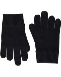 Calvin Klein Basic Knitted Gloves Guantes - Negro