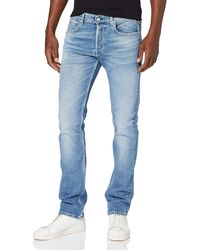 Replay Grover Tapered Fit Jeans - Blau