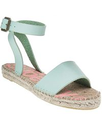 Superdry - Sofia Espadrille Sandals Green - Lyst