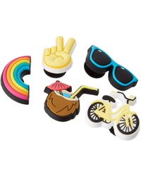 Crocs™ 's Vacay Vibes 5 Pack Shoe Decoration Charms - Multicolour