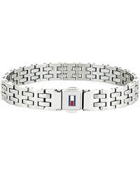 Tommy Hilfiger Jewelry Hombre acero inoxidable Enlace 2701062 - Multicolor
