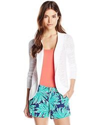 Lilly Pulitzer - Amalie Open Front Cardigan - Lyst