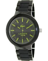 Lacoste - Watch Xl Analogue Quartz Stainless Steel 2010768 - Lyst