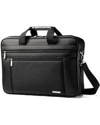 Samsonite Adult 43269-1041 Classic Business Laptop Bag-17 - Black