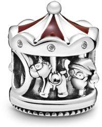 PANDORA Argent Charms et perles 798435C01 - Blanc