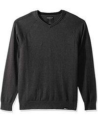Skechers Golf Fairway Long Sleeve V Neck Cottom Cashmere Jumper Vest - Grey