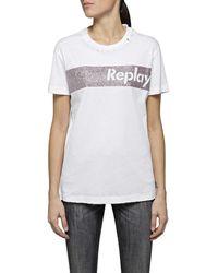 Replay - W3940r.000.22660 T-Shirt - Lyst