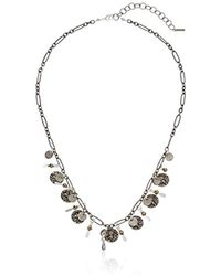 Chan Luu - Pyrite Adjustable Chain Necklace - Lyst