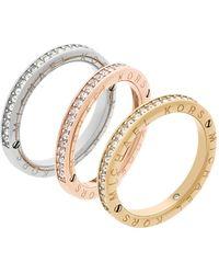 Michael Kors Stainless Steel Glass Ring Mkj6388998 - Metallic
