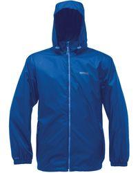 Regatta Great Outdoors S Adventure Tech Lyle Ii Waterproof Packaway Jacket - Blue