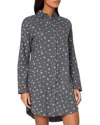 Esprit Khlea Cas Nw Nightshirt Nightgown - Grey