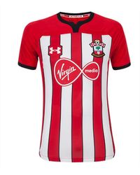Under Armour 2018-2019 Southampton Home Football Shirt - Red