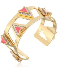 Juicy Couture - Deco'd Out Open Spike Cuff - Lyst