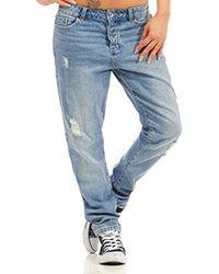 Vero Moda Jeans/boyfriend Jeans Vmivy - Blue