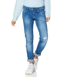 Pepe Jeans Pixie Jeans Donna - Blu